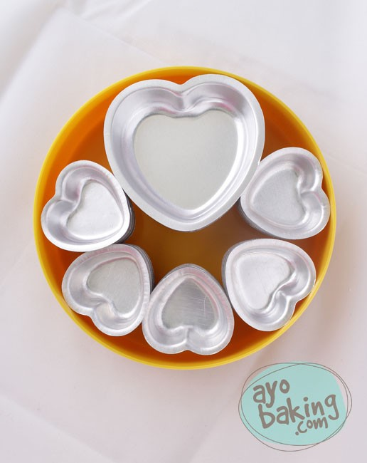 Valentine Mould Type B - Ayobaking products