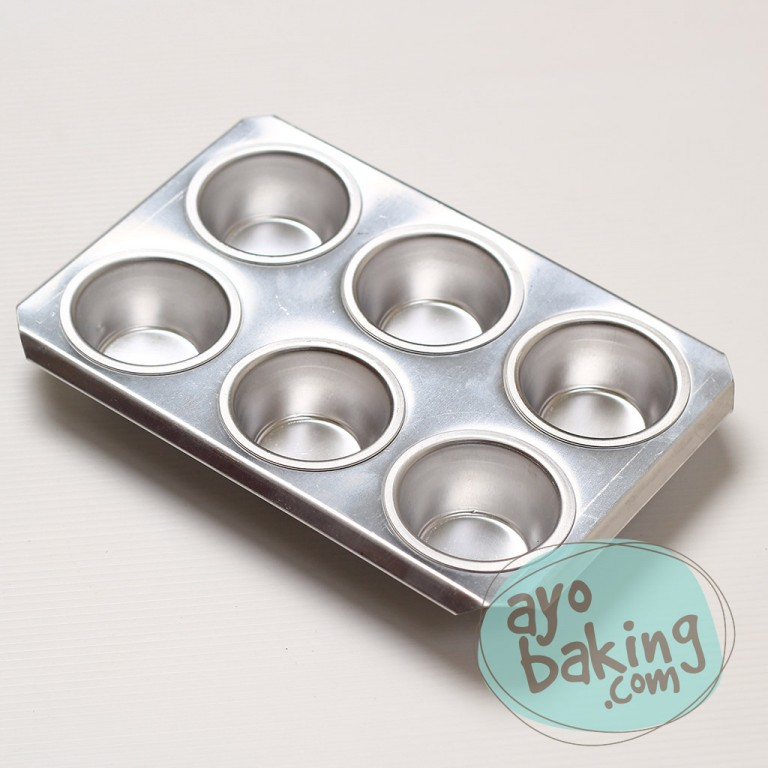 Muffin Pan 6 Pcs - Ayobaking products