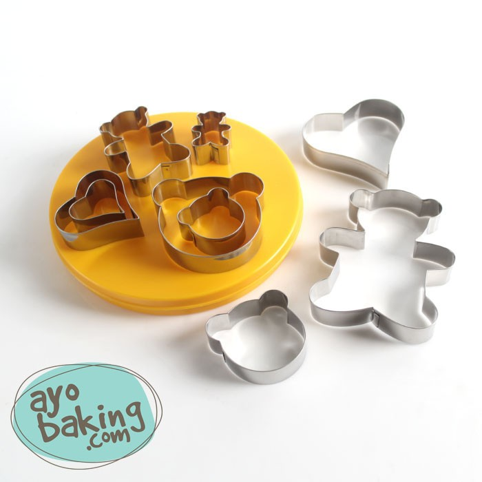 Love Bear Cutter Set - Ayobaking products