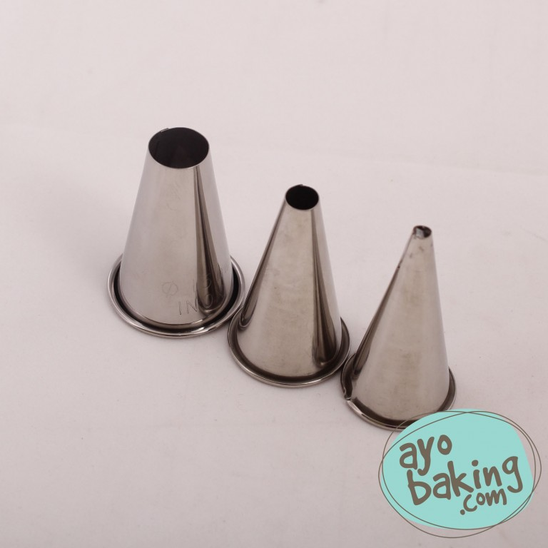 Icing Tube Round Set of 3 Pcs  - Ayobaking products