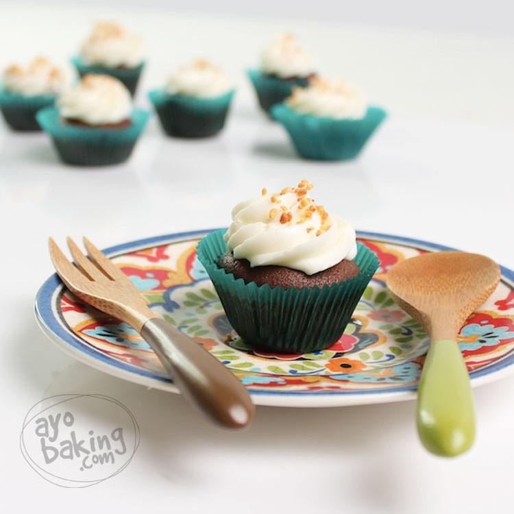 Cupcake Coklat Kurma - Ayobaking recipes